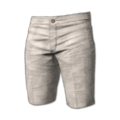 Icon Pants Gold Shorts White.png