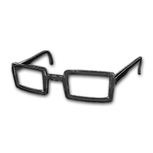 Icon equipment Eyes Horn-rimmed Glasses (Black).png