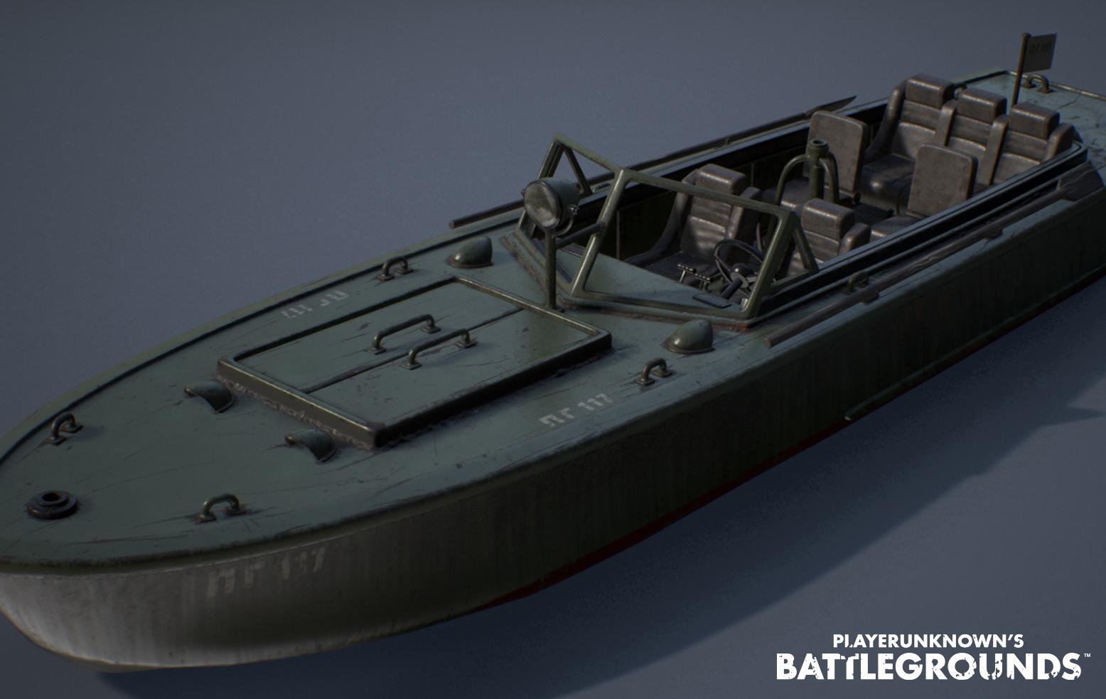 PUBG Boat