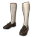 Icon equipment Feet Loafers with Socks Brown.png