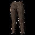 Icon Pants Striped Slacks Brown.png