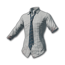 School Shirt with Blue Necktie.png