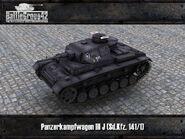 Panzer III J render