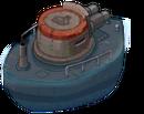 Ship ironclad back