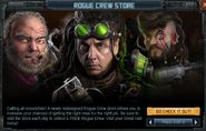Rogue Crew Store ad