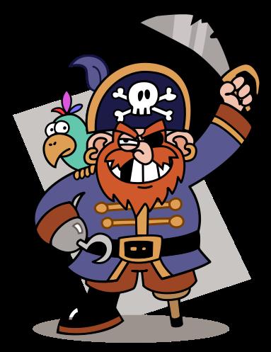 Pirates we arrrrh