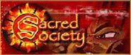 Sacred society banner