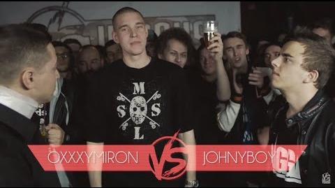 Oxxxymiron vs Johnyboy (Versus Battle)