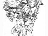 Omicron Zeta Power armor