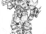 Omicron S.W.A.T power armor