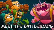 Battletoads Behind the Scenes - Meet the Battletoads