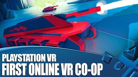 Battlezone PSVR Gameplay - We play online Co-op in VR!