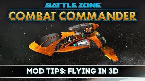 Battlezone Combat Commander - Mod Tips Flying In 3D