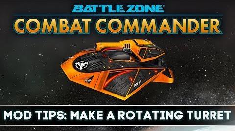 Battlezone Combat Commander - Mod Tips Make a Rotating Turret