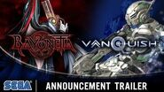 Bayonetta & Vanquish 10th Anniversary Bundle Announcement Trailer