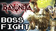 BAYONETTA- Fortitudo Boss Fight