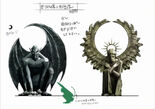 Gargoyle & Angel Statues