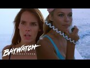 A BOAT EXPLODES! OFF DUTY RESCUE By CJ Parker & Stephanie - Baywatch Remastered