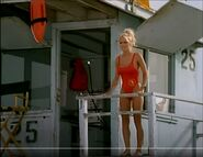 Baywatch - October 29, 1994 - 228 - C.J. Parker (Pamela Anderson) In Her Red Lifeguard Bathing Suit