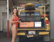 Baywatch - February 4, 1995 - 470A - Caroline Holden (Yasmine Bleeth) In Her Red Lifeguard Bathing Suit