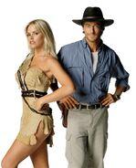 Gena and John in Sheena