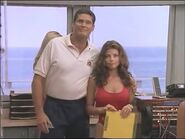 Baywatch - Mitch tells Taylor that Caroline deserves to work at active tower - Nov 1 1997