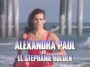 Baywatch open - Sept. 14 & 21, 1992 - Alexandra Paul