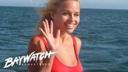 C J PARKER Dives In To Save WATER SKIER! Baywatch Remastered