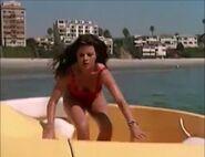 Baywatch - February 4, 1995 - 318R - Caroline Holden (Yasmine Bleeth) In Her Red Lifeguard Bathing Suit