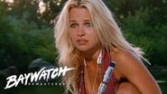 Pamela Anderson's First Ever Scene On Baywatch Introducing CJ Baywatch Remastered