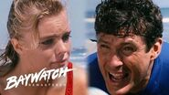 Brother Calls For Help As His Sister Begins To Drown - Mitch Rushes To Help Out! Baywatch