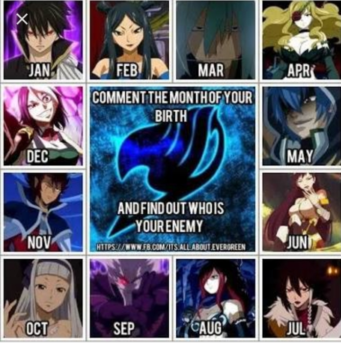 Your fairy tail enemy