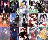 Accel World Light Novels 1-15