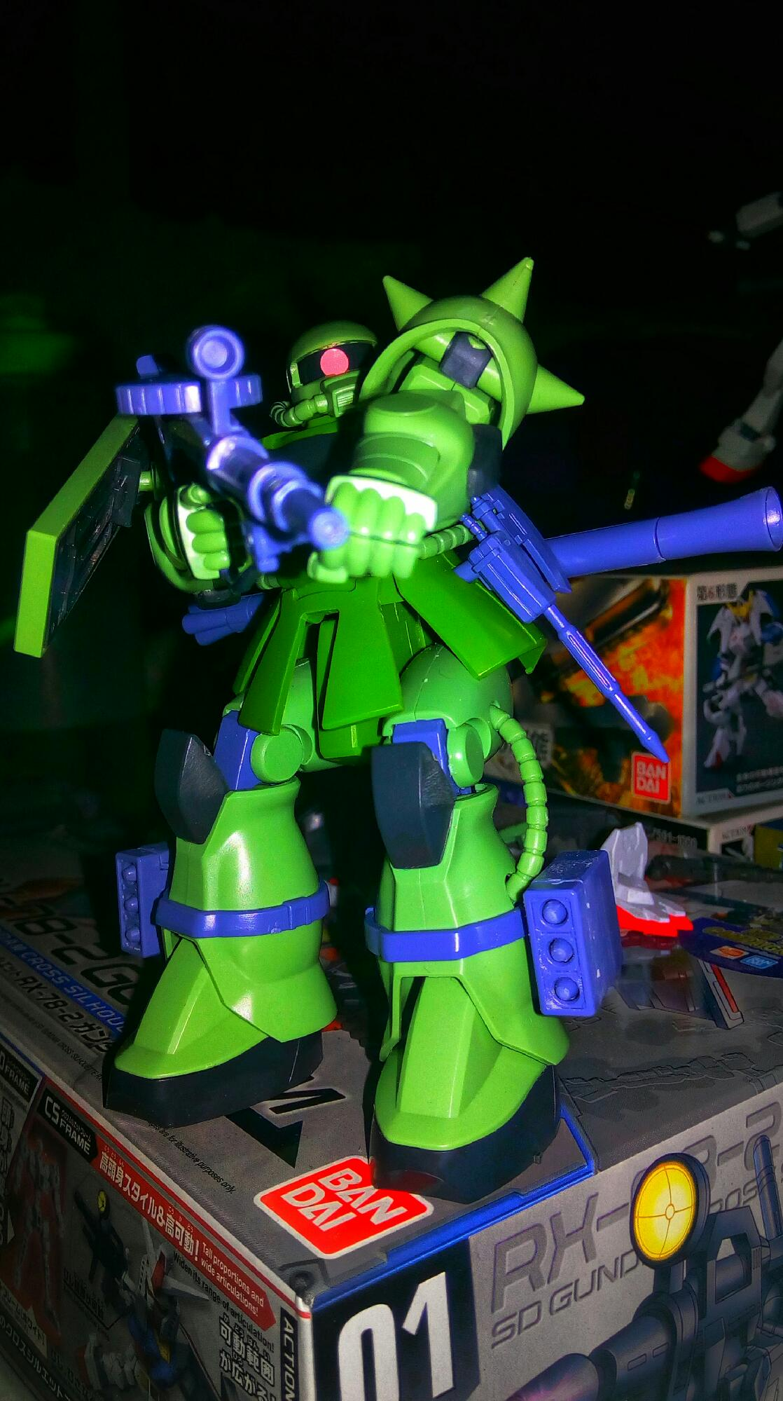Just finishing my Zaku MS-06 ll
