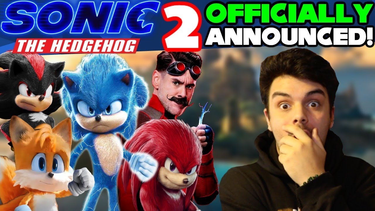 Sonic The Hedgehog Movie Sequel Officially Announced!