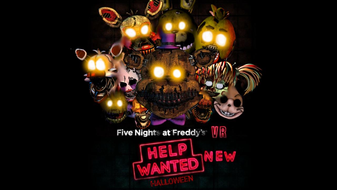 fnaf help.wanted halloween