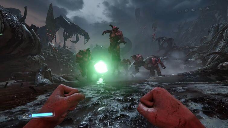 Doom 2016 Baron Massacre