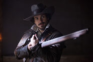 Aramis with musket