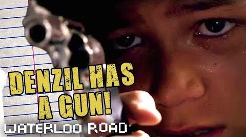 Waterloo Road - Denzil Shoots At Donte Season 4 Episode 1