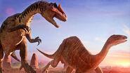 Allosaurus Vs Camptosaurus