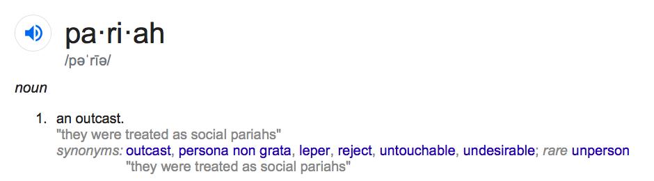 Reject As A Noun