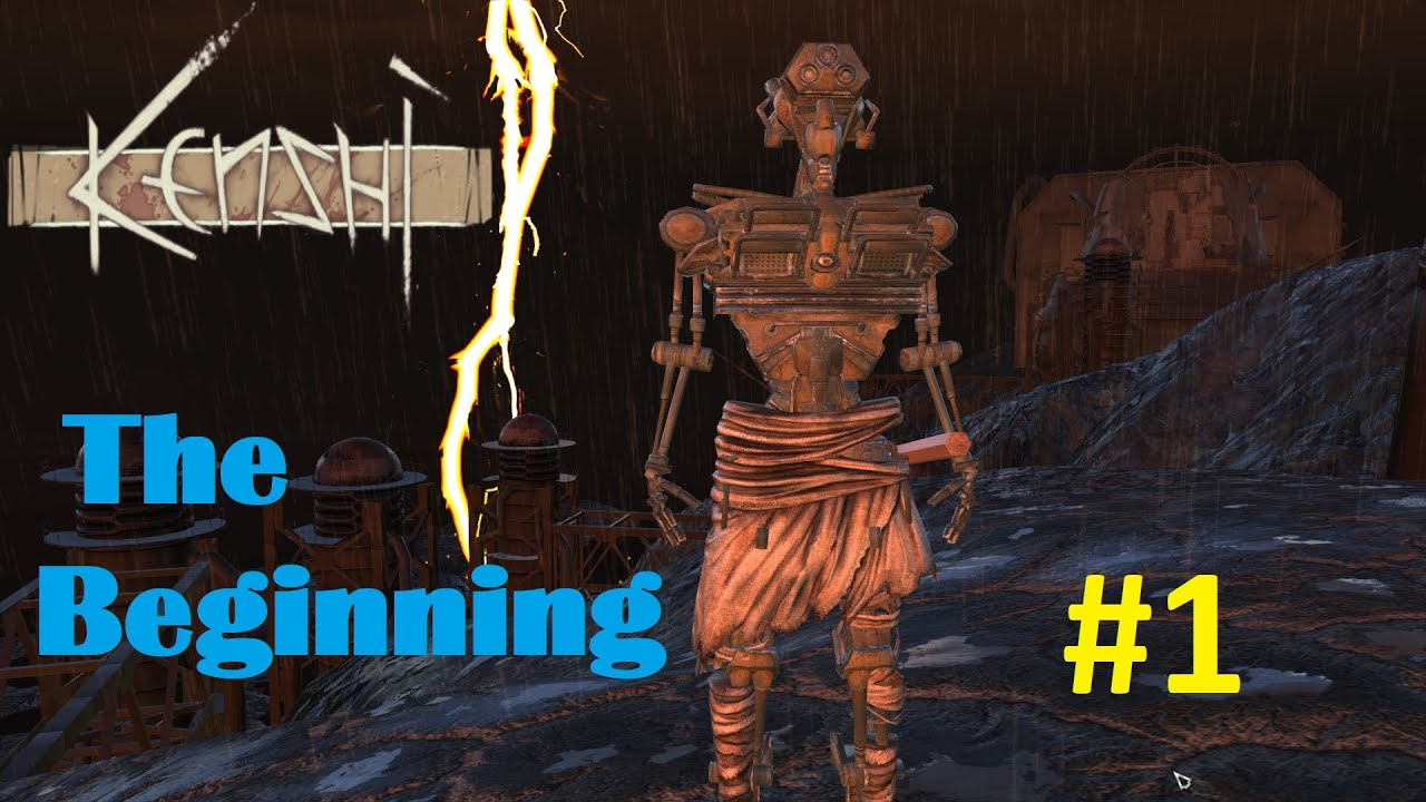 Best Way To Start Kenshi, Neocytol Gameplay Part 1 - The Beginning