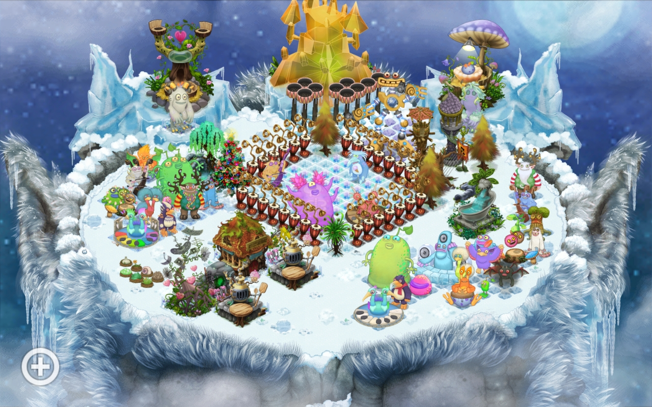 Re-decorated cold island