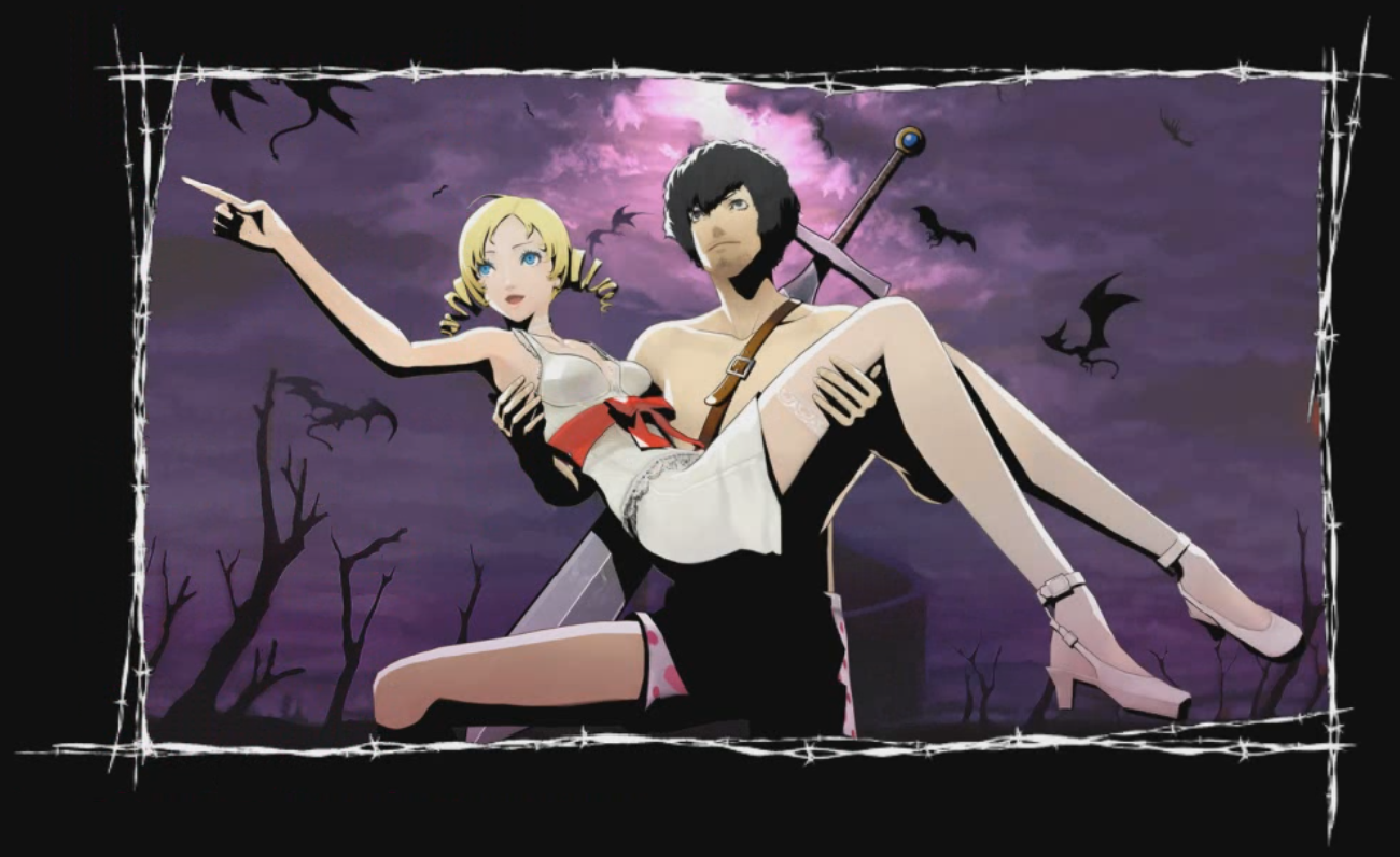 Vincent and Catherine art