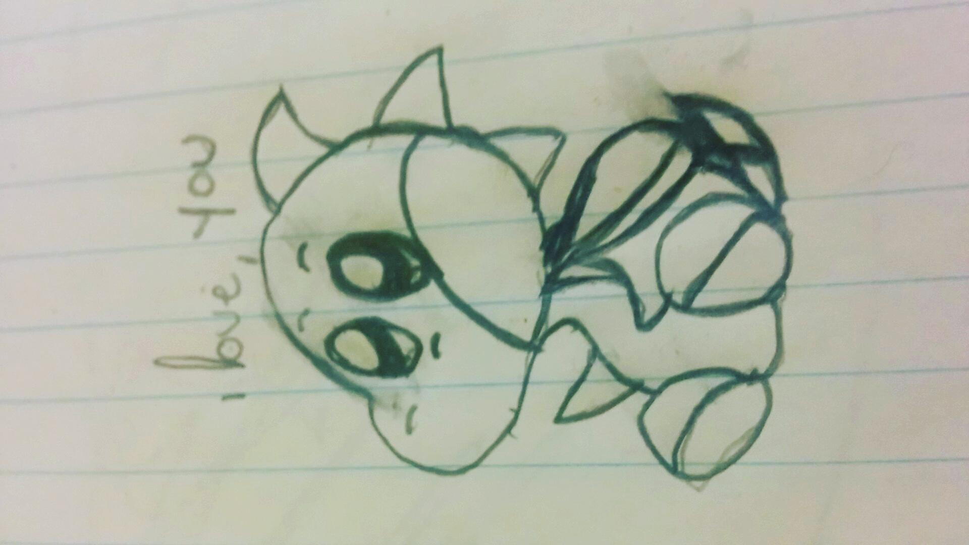 Baby Yoshi loves you