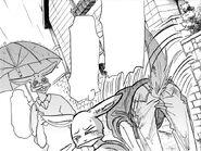 Legoshi acepta la invitación del Padre de Hal (Manga)