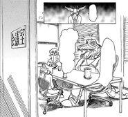 Benny es incorporado al programa (Manga)
