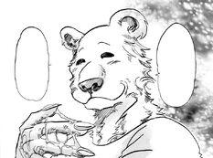 Riz sonríe tras romper un huevo (Manga)