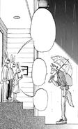 Legoshi se despide de la familia de Hal (Manga)