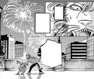 Eado alcanza a Aco (Manga)